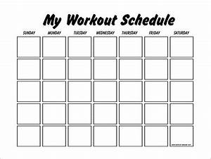 workout schedule template 10 free word excel pdf With gym calendar template