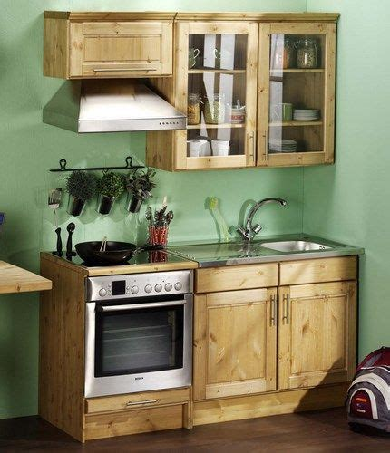 cocina mini bachelor flat wiehan en  muebles de