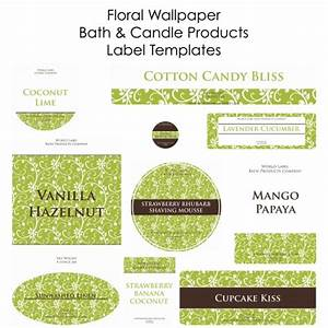 free soap labels candle labels biz starter kit With candle label design template