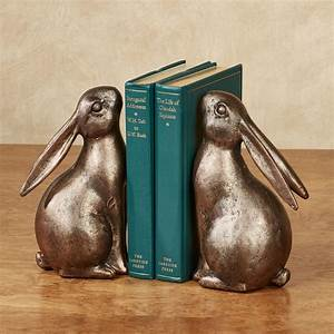Bunny, Rabbit, Bookend, Pair
