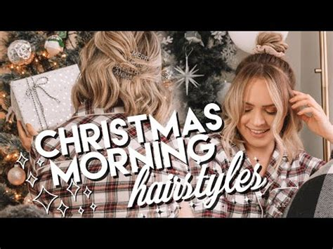 (36) Christmas Hairstyles Easy Hairstyles for Xmas