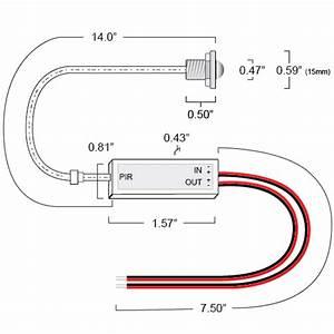 Motion Sensor Switch For Low Voltage Led Lights  12