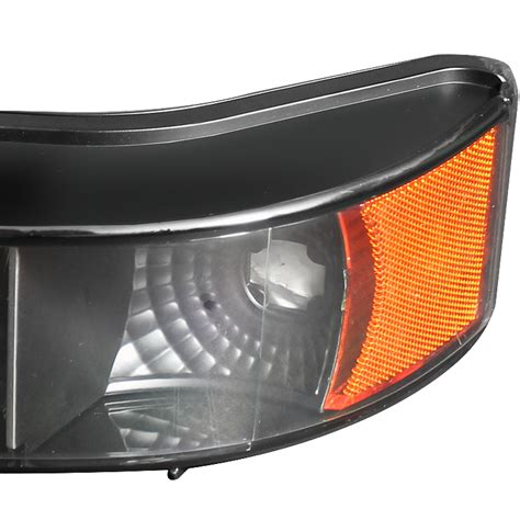 blacked out tail lights fits 92 96 f150 f250 blacked out headlights mystery look