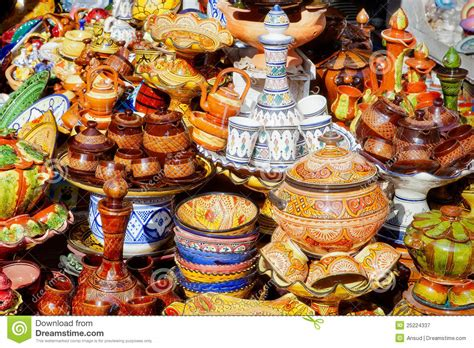 ceramics souvenir shop traditional vases royalty free stock image image 32265626 traditional moroccan pottery royalty free stock photography image 25224337