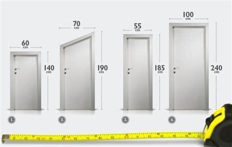 porte interne misure standard portes italienne en bois ferrerolegno
