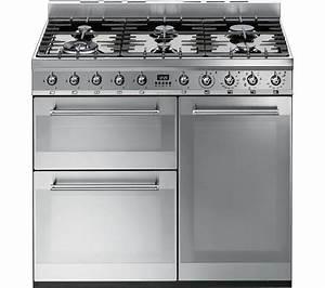 Smeg Online Shop : buy smeg symphony 90 cm dual fuel range cooker stainless steel free delivery currys ~ Heinz-duthel.com Haus und Dekorationen