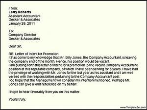 letter of interest for promotion template - best ideas of letters of intent job insrenterprises in