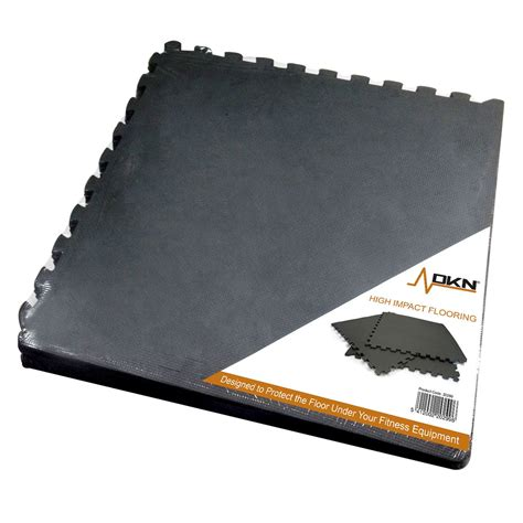 Impact Floor Mats by Dkn 6 High Impact Interlocking Floor Protection Mat