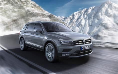Volkswagen Tiguan 4k Wallpapers by Wallpapers Volkswagen Tiguan Allspace 4k 2018