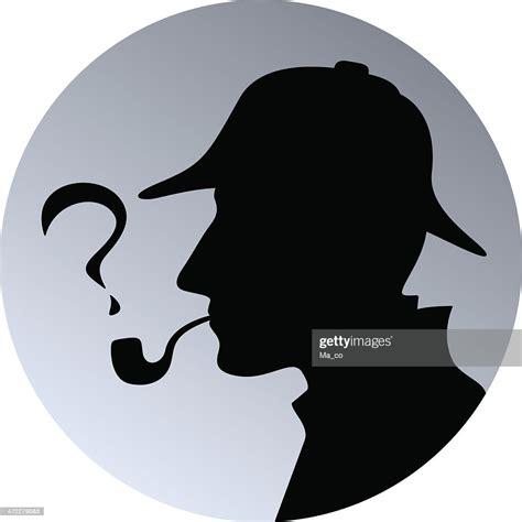sherlock detective holmes vector illustration graphic