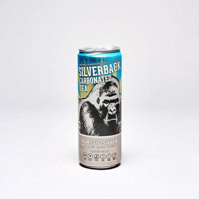 If you know us, you know we like our beans #fresh and our coffee #hot ! Silverback Carbonated Tea, Classic Silver | Product Marketplace