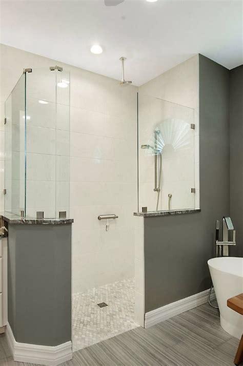 elegant graywhite bathroom remodel sandstar remodeling