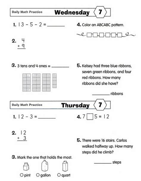 Daily Math Practice Grade 2