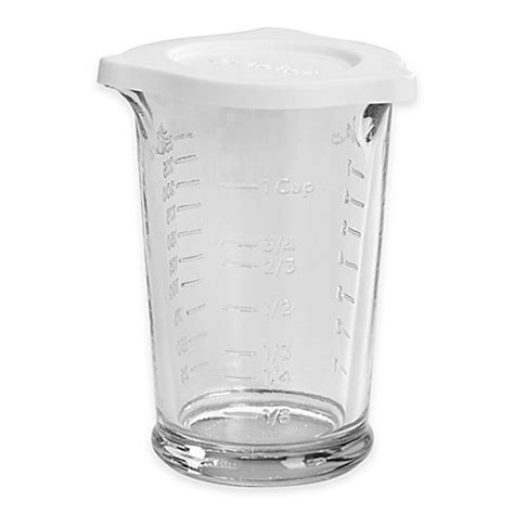 measuring cup anchor hocking triple embossed pour bedbathandbeyond