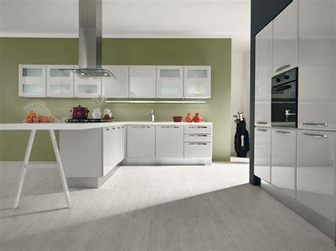 cuisine vert olive couleur de cuisine en 50 idées modernes et inspirantes