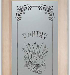 pantry doors frosted etched glass designs eclectic With pantry door with glass etched