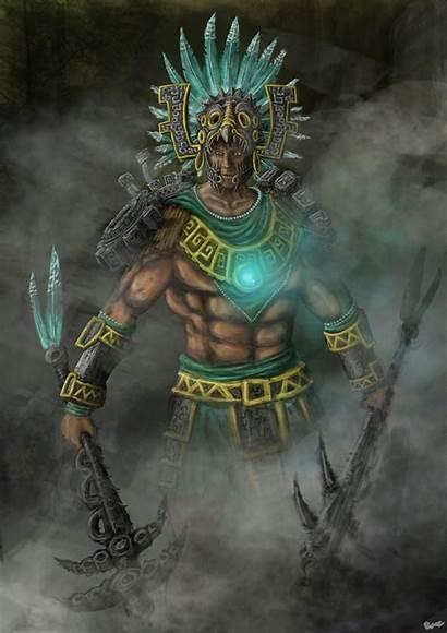 Aztec Warrior Warriors Deviantart Mexican Cog Fantasy