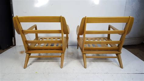 Pair Of Streamline Modern Lounge Chairs Heywood-wakefield At 1stdibs Big And Tall Office Chairs Amazon Wrought Iron Swivel Patio Eddie Bauer Rocking Chair Ikea Recliner Small Table Bungee Target Rustic Dining Tables Movie Director