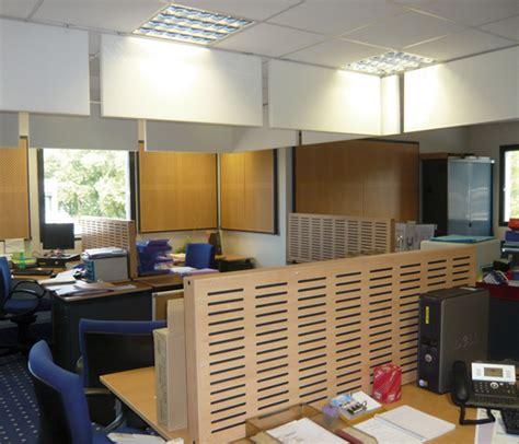 cloison phonique bureau ecran acoustique bois cloison phonique bureau open space