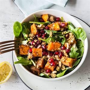 Salat Mit Spinat : dolle knolle an die macht s kartoffel spinat salat mit quinoa ~ Orissabook.com Haus und Dekorationen