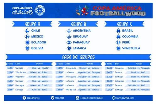 copa america cup fixture download