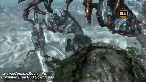 God Of War 3 Kratos Vs Poseidon Boss Battle Youtube