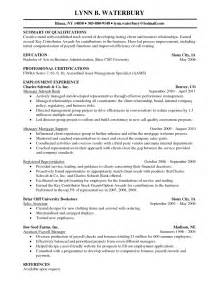 skill resume financial planner resume sle free