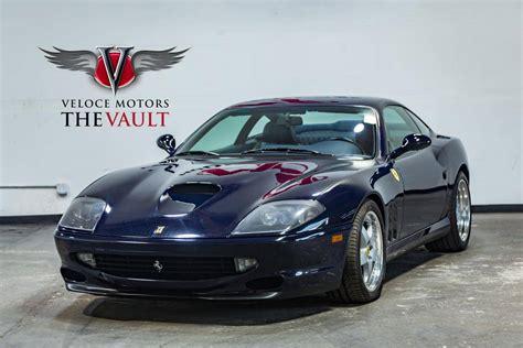 What engine is in 1999 ferrari 550 maranello v12? 1999 Ferrari 550 Maranello for sale #2397312 - Hemmings Motor News