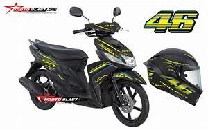 Yamaha Mio M3 Black Vr46 Project