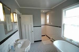 black and white bathroom traditional bathroom new With houzz black and white bathroom