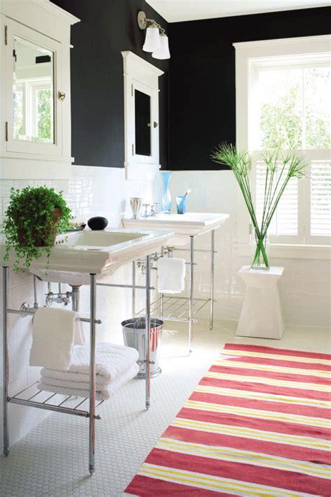Get This Look: Bright White Double Vanity Bath   Remodelaholic