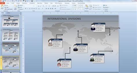 organization chart template powerpoint   highest