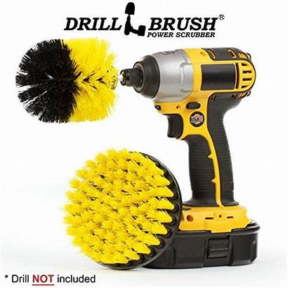 Cleaning Brush Drill Grout Tile Cleaner Bathroom