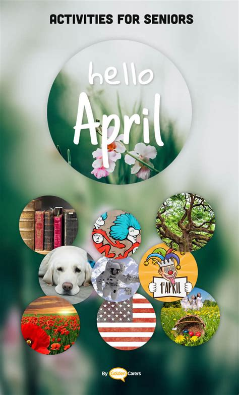 april  ideas activities calendar