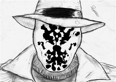 Rorschach Drawing Watchmen Wallpapers Hd Desktop And