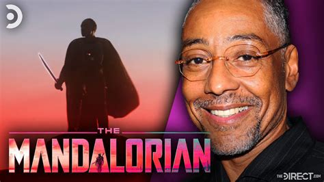 The Mandalorian Season 2: Giancarlo Esposito Reveals He ...