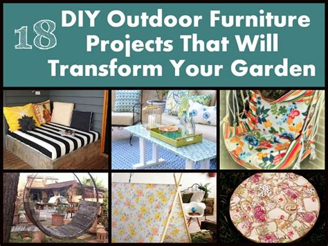 Fantastic Diy Outdoor Furniture Tutorials Diycraftsguru