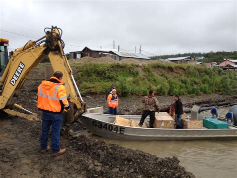 Emergency Pipe Bursting Project In Alaska Uses Chain-drive
