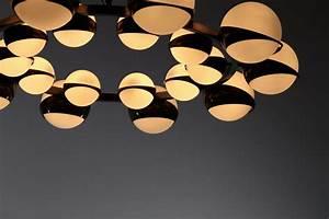Grand Lustre Design : grand lustre italien moderne patine noir style stilnovo ~ Melissatoandfro.com Idées de Décoration