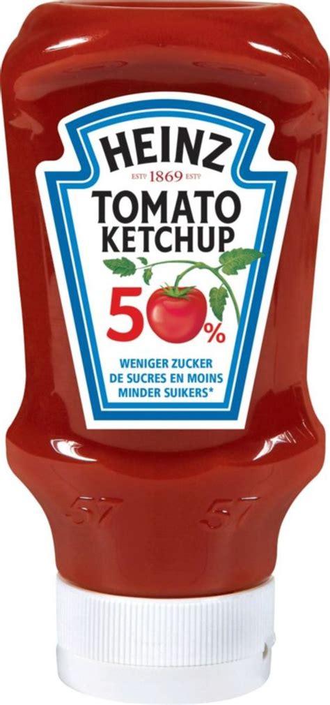 Tomato Ketchup 50% weniger Zucker und Salz 400 ml von ...