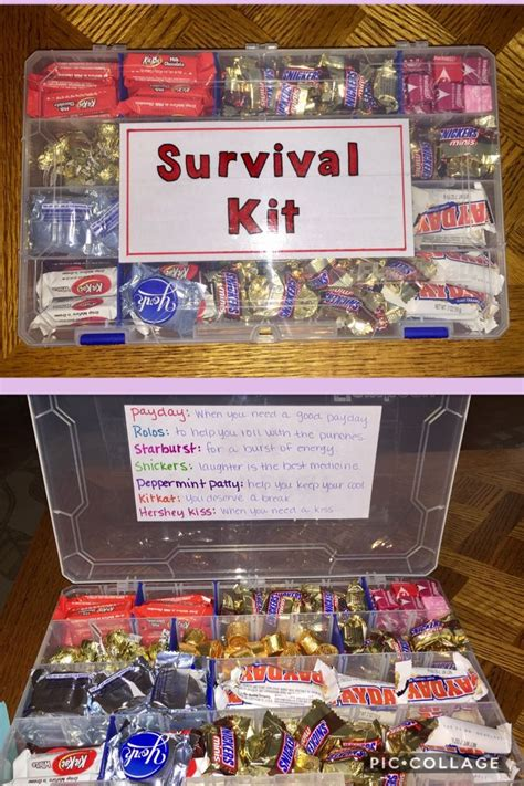 candy survival kit  everyday pick  ups gift