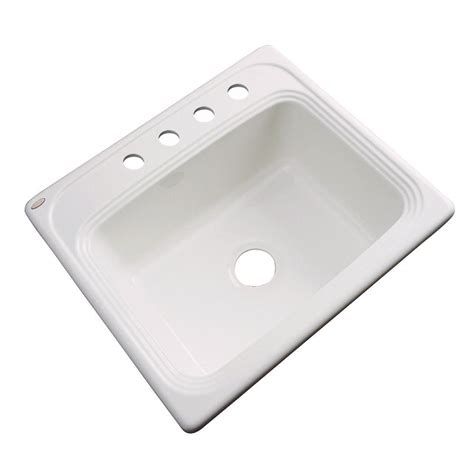 Thermocast Sink Home Depot thermocast wellington drop in acrylic 25x22x9 4