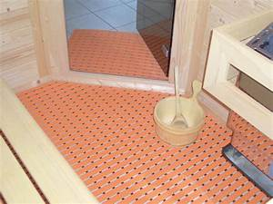 Vinyl Bodenbelag Bilder : sauna bodenrost pvc bodenbelag baderost saunar ume ~ Markanthonyermac.com Haus und Dekorationen
