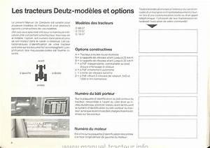 Controle Technique Ploemeur : manuel instruction deutz 6807 7207 7807 ~ Nature-et-papiers.com Idées de Décoration
