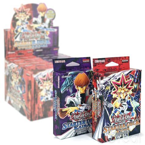 starter deck kaiba reloaded ebay new yu gi oh kaiba or yugi starter deck reloaded 50 cards