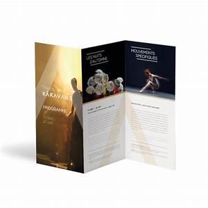Dépliant 2 Volets : plaquette 3 volets impression plaquette publicitaire ~ Melissatoandfro.com Idées de Décoration