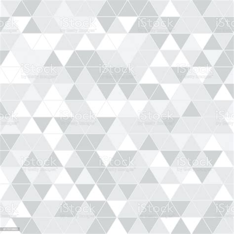 Seamless Triangle Pattern Geometric Texture Vector