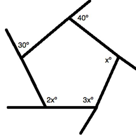 How To Find An Angle In A Pentagon  Act Math