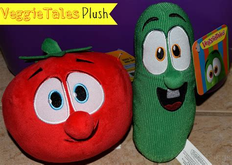 veggietales larry  bob plush toys