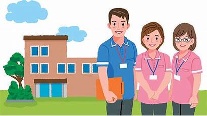 Facility Management Clip Illustrations Vector Nursing Cartoons